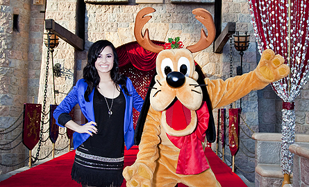 The Jonas Brothers, Demi Lovato, and More Celebrate Christmas at ...