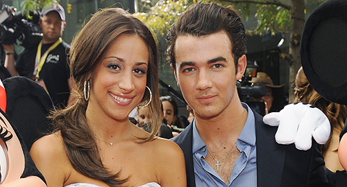 Danielle and Kevin Jonas Wife